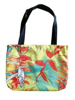Tote bag Heliconia