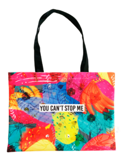 Tote bag You can't stop me!