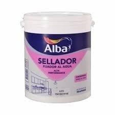 Fijador Sellador Alba Al Agua 4lt(rinde20lt)-colormix