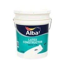Pintura Latex Constructor Alba Blanco Mate 10 Lts-colormix