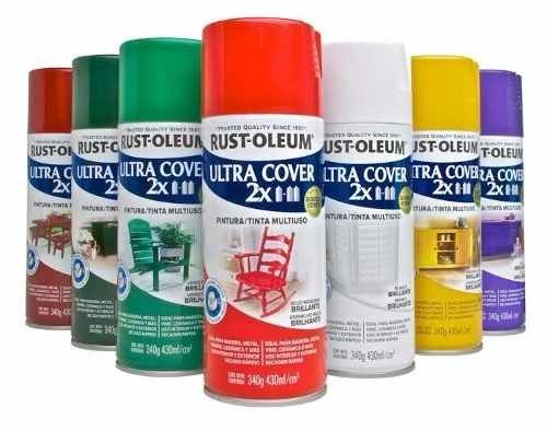 Pintura-aerosol Rust Oleum Ultra Cover 2x Azul Marino 340gr