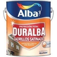 Impregnante Duralba Ladrillos Satinado Ceramico 4lt-colormix
