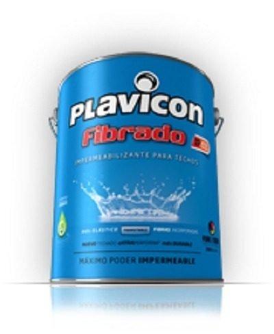 Pintura Techos Plavicon Fibrado Blanco 10 Kg -colormix