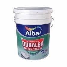 Duralba Techos  Fibrado Blanco/teja 4 Lts-colormix Cordoba