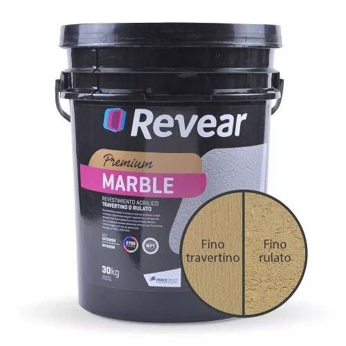 Revoque Plastico Marble Text Medio Marfil Bambu 30kg-cordoba