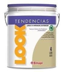 Latex Int/ext. EMAPI Look Tendencia COLORES VARIOS 1lt