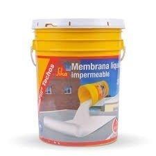 Pintura Techos-membrana Liquida Sikafill Blanco 20 Lts- Cba
