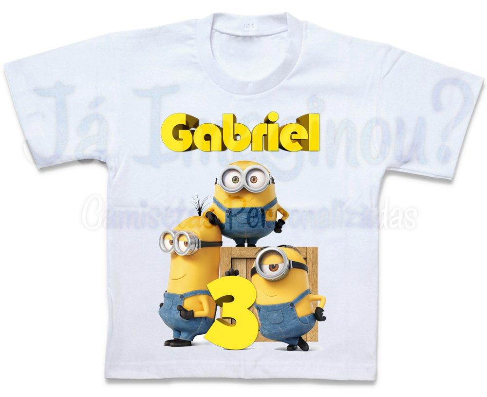 7e5396db47 Camiseta Minions Stuart Kevin Bob