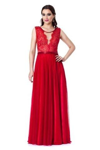 comprar-vestido-longo-vermelho-renda-transparencia-bordado-usado- a80f57a8ed