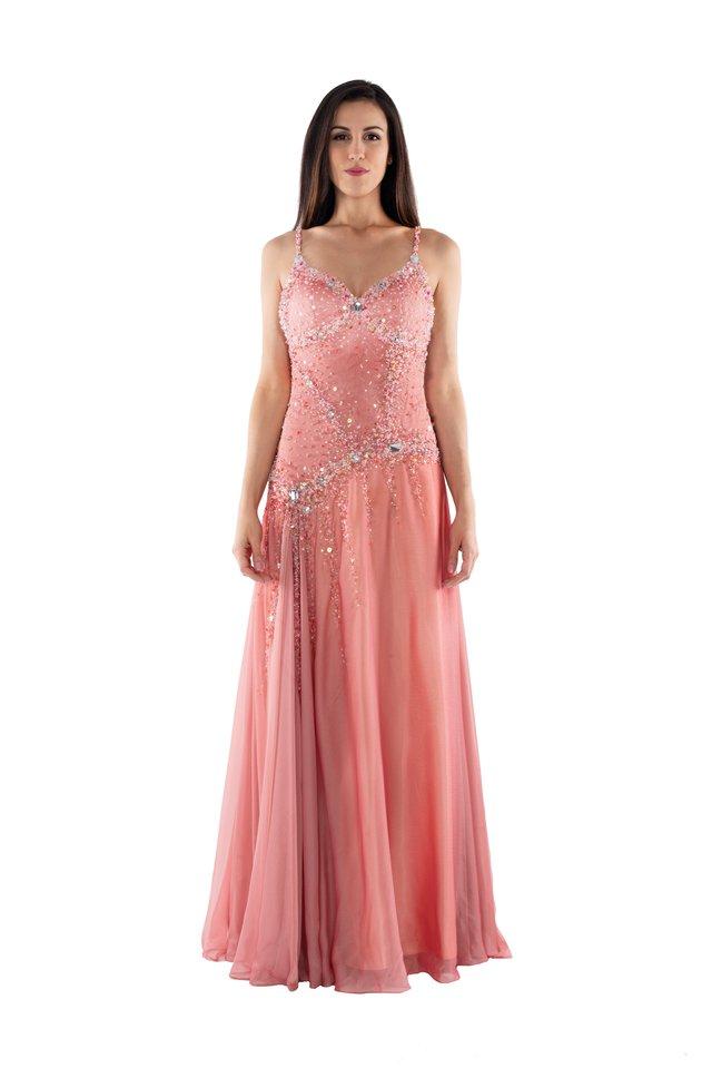 f4a22cfed ... comprar-vestido-de-festa-longo-rosa ...