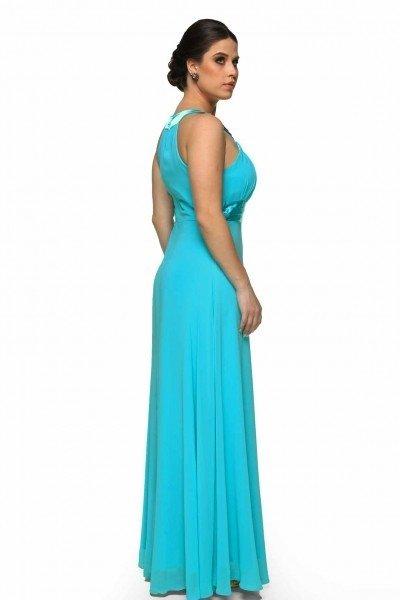... comprar-vestido-longo-azul-tiffany-decote-canoa-drapeado- ... 3a38c1dccb
