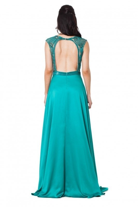 Vestido Green Royal - Fruta Cor na internet