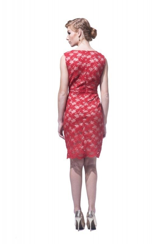 Vestido Red Rose - Carolina Muller - comprar online