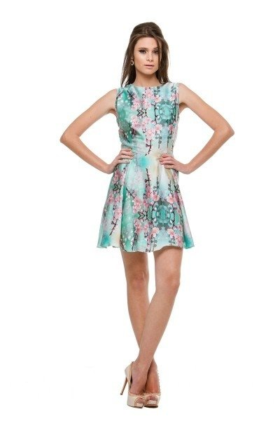 Vestido Summer Flower - Carolina Muller