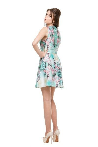 Vestido Summer Flower - Carolina Muller na internet