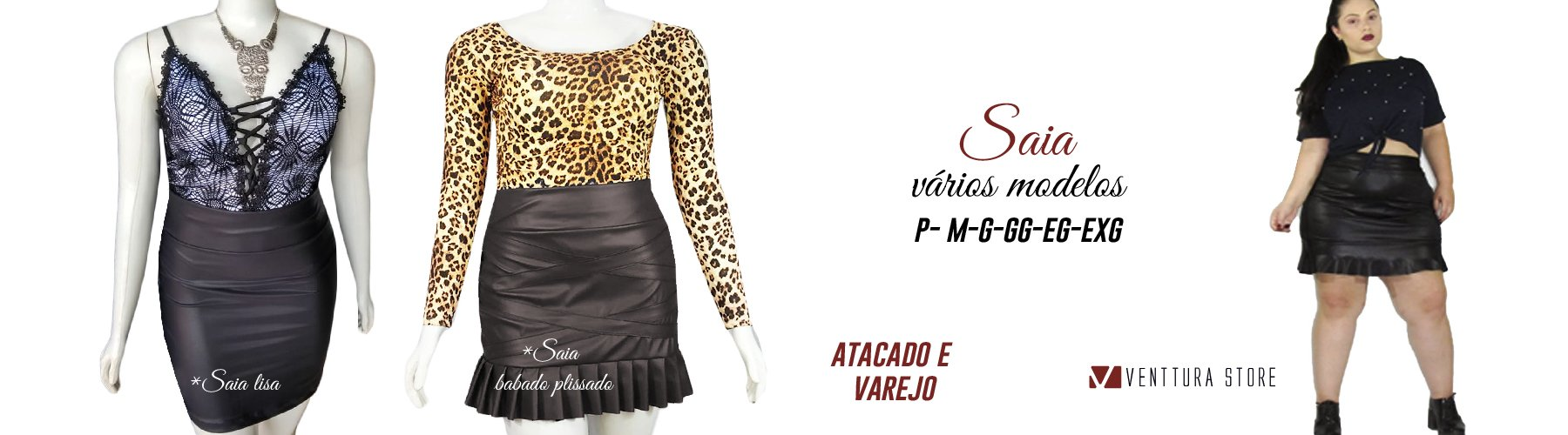 4849acb24db5f2 Venttura Store - moda plus size
