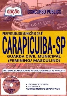 Apostila Prefeitura de Carapicuíba-SP 20...