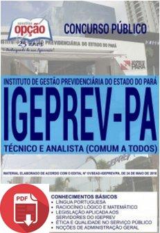 Apostila Digital - IGEPREV - PA 2018 - T...