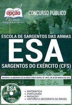 Apostila Exército (EsSA) 2018 - Sargento...
