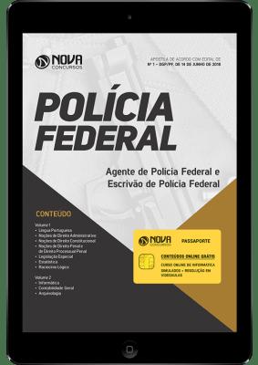 Apostila Digital - Policia Federal 2018...