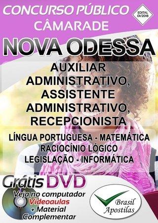 APOSTILA CÂMERA NOVA ODESSA - SP 2018 -...