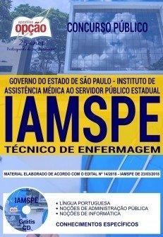 Apostila IAMSPE 2018 - Técnico de Enferm...