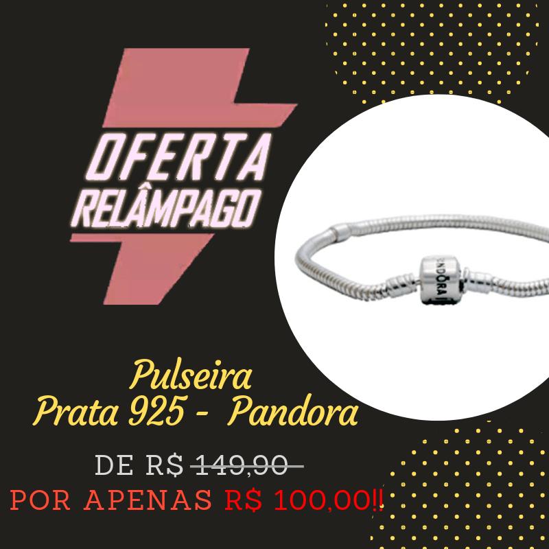 b97dd0ee2 BLACK FRIDAY Pulseira Pandora Prata 925 Original Super promoção