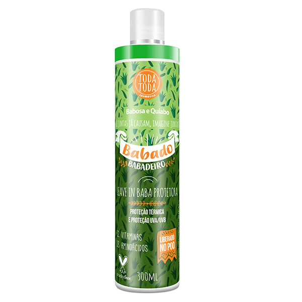 Leave in Babado Babadeiro 300ml - Toda Toda Cosmetics