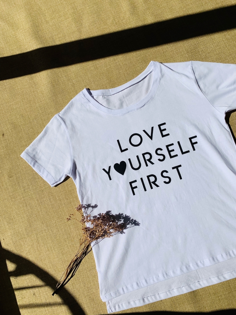 ♥ Remera Love Yourself ♥
