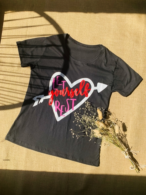 ♥ Remera Heart Yourself ♥ - comprar online