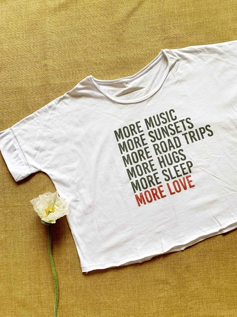 ♥ Remera More Love ♥ - comprar online