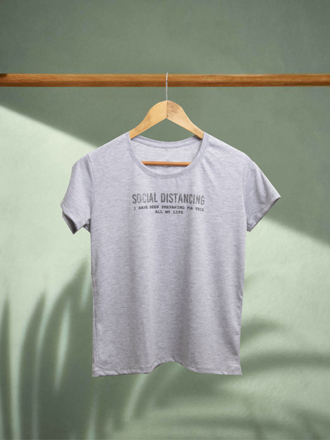 ♥ Remera Social Distancing ♥ en internet