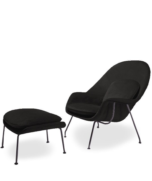 Womb Chair black
