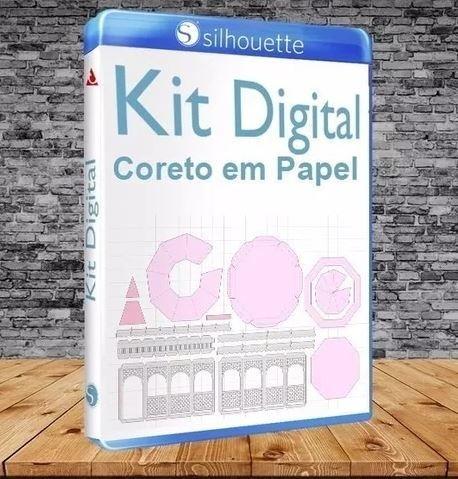 Arquivo Silhouette Coreto 3D Arquivo Silhouette Coreto 3D - comprar online c1248a8494