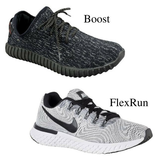 Kit 2 Tênis - Boost e FlexRun