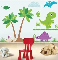 Vinilo Decorativo Kit Dinosaurios 2