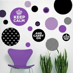 Kit De Vinilo Decorativo Autoadhesivo Keep Calm - Mister Vinilikus