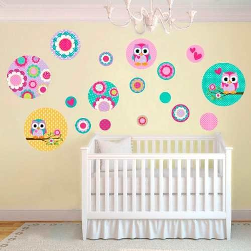 Kit De Vinilo Decorativo Autoadhesivo Little Owl