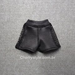 Mini Shorts Com Tule (Barbie)