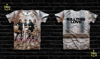 Camisa BlackPink - Kill This Love Single...