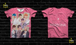 Camisa BTS - Map of the Soul Persona All