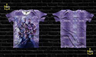 Camisa Avengers End Game Poster