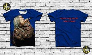Camisa - Billie Eilish - Live on Blue Pe...