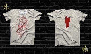 Camisa - Billie Eilish Merch Simple Effe...