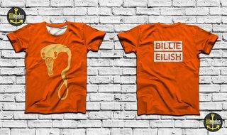 Camisa - Billie Eilish - Monster Orange...