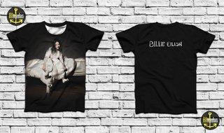 Camisa - Billie Eilish - When we all fal...