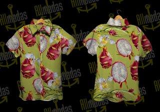 Camisa de botão - Pitaya Dragon