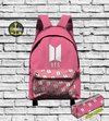 Mochila BTS - Map of the Soul Persona Pink Bag