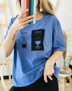Remera AM PM Azul