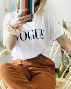 Remera Vogue Blanco
